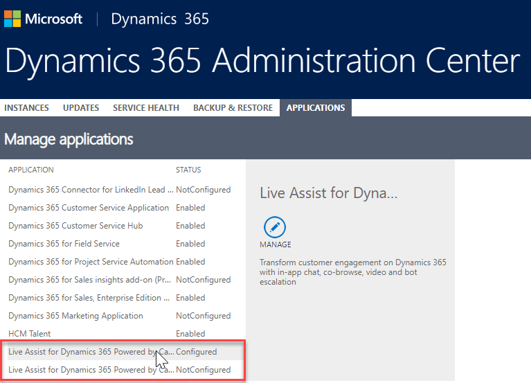 Common Installation Faults – Live Assist for 365 Support