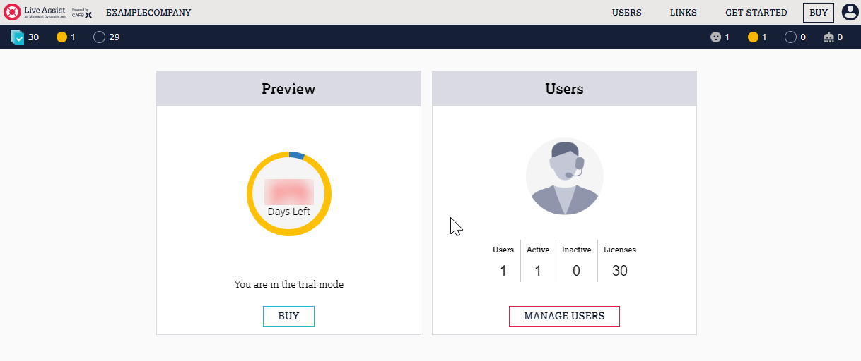 User roles within Live Assist for Microsoft Dynamics 365